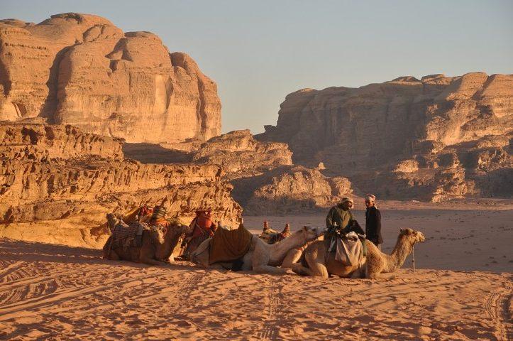 Beduinos en Jordania