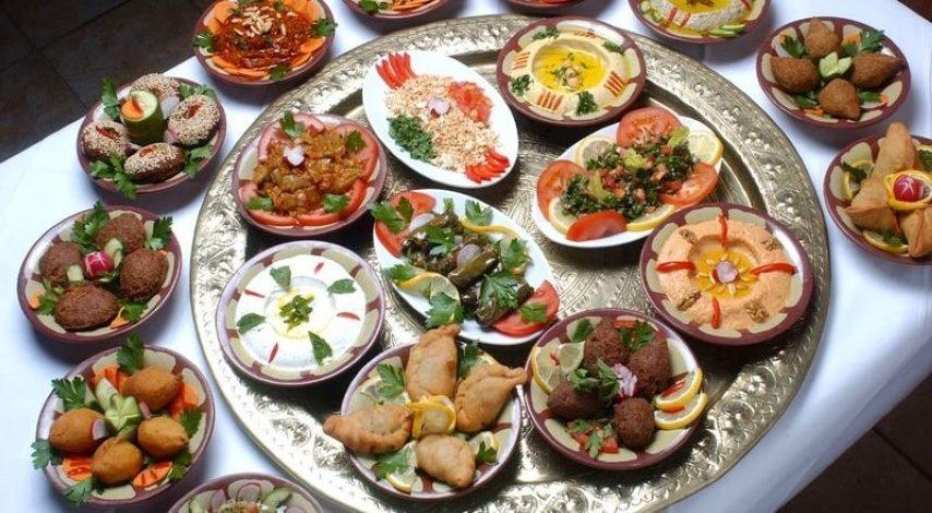 Mezze típico de Jordania