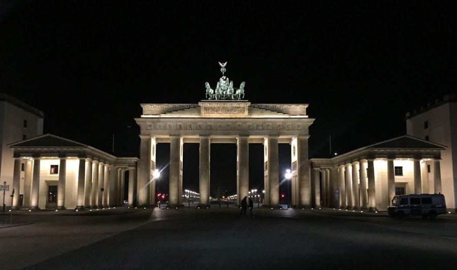 Puerta Brandenburgo de Noche