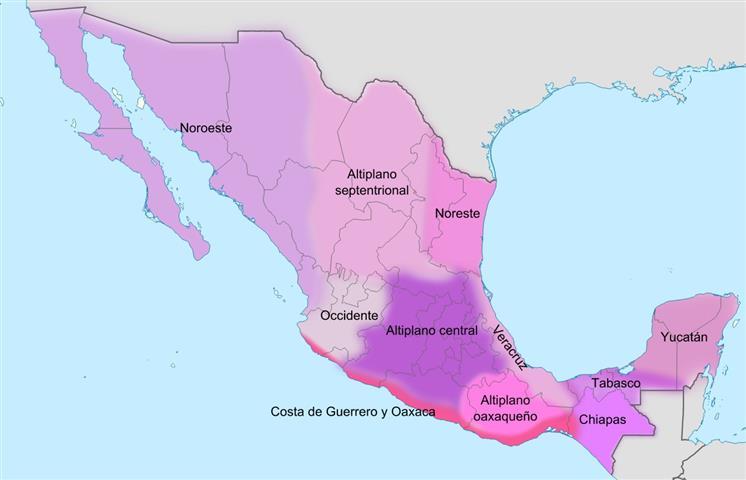 Dialectos en México