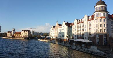 Vistas de Kaliningrado