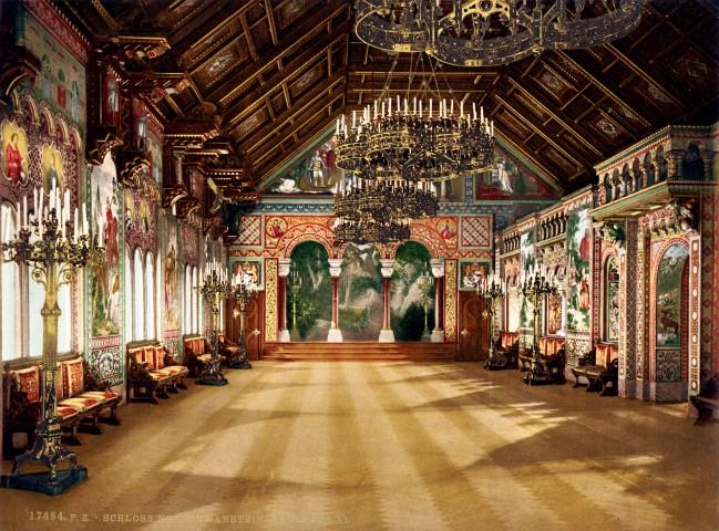 Neuschwanstein Interiores