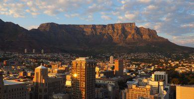 Table Mountain puesta de sol