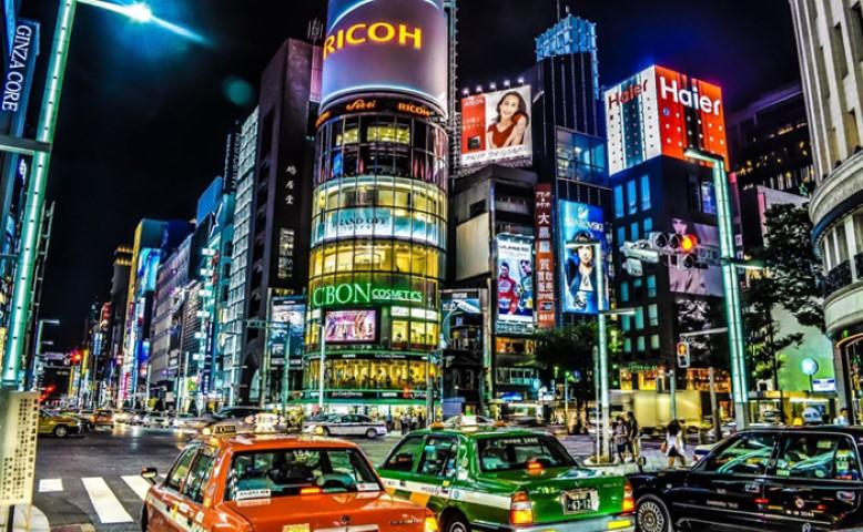 La noche en Tokio