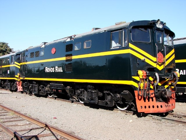 Rovo Rail máquina locomotora