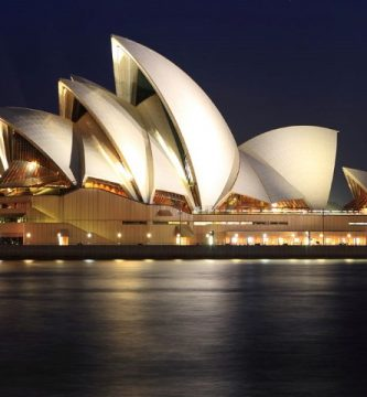 Opera de Sydney Vista Nocturna