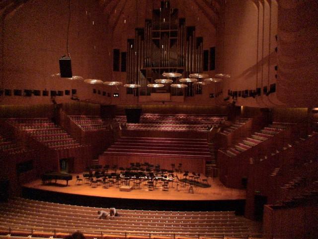 Opera de Sydney Interior