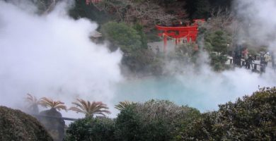 Beppu Japan Hotsprings Onzen