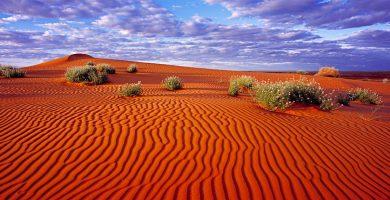 Imagen dunas desierto Simpson