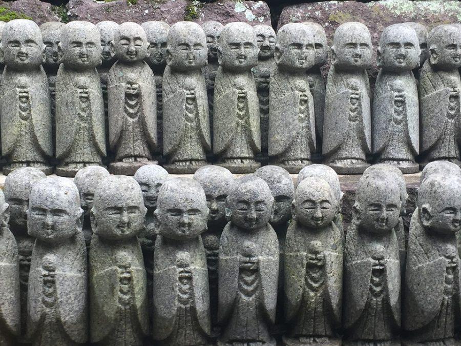 Estatuas budistas en Kamakura