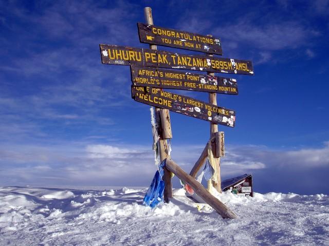 Cumbre del Kilimanjaro