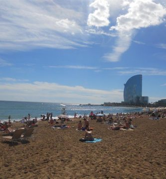 Playas de Barcelona en Verano