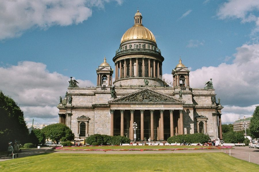 St Petersburg, St Isaac Cathedral