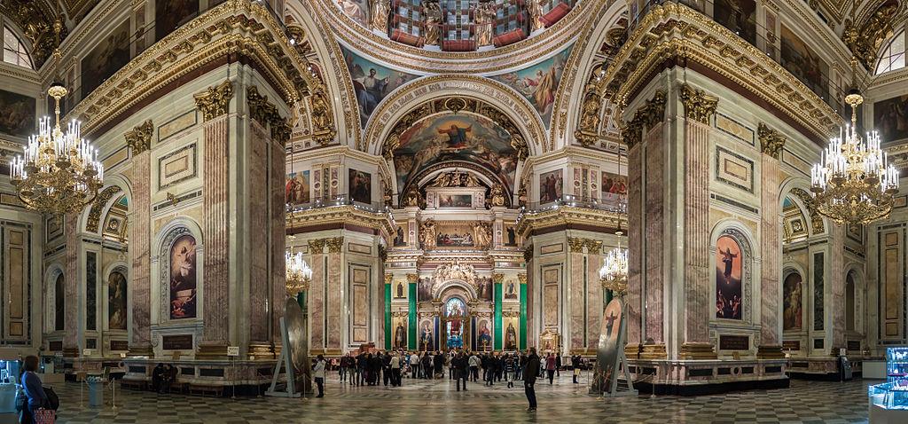 San Petersburgo San Isaac interior
