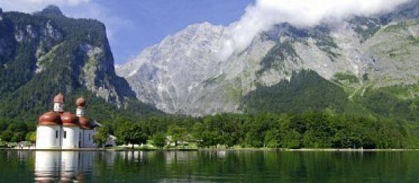 Hoteles en los Alpes Alemanes