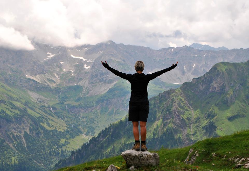 Naturaleza pura en los Alpes alemanes