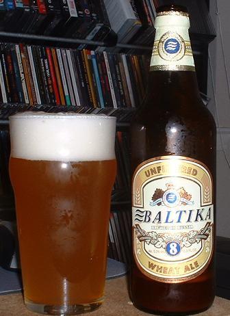 Cervezas Rusas. Baltika