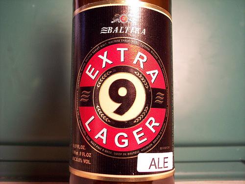 Cervezas Rusas Extra Lager Baltika