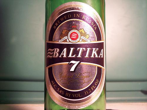 Cerveza  Rusa Baltika 7