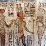 Jeroglíficos egipcios para viajes