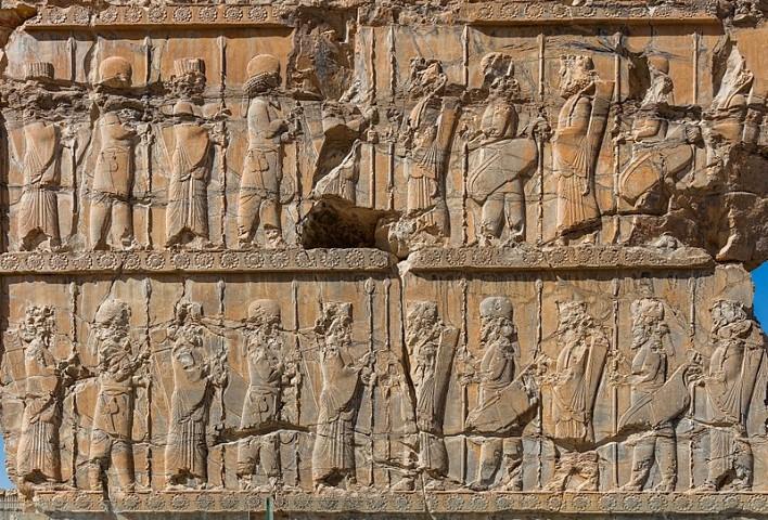 Inscripciones antiguas de Persépolis