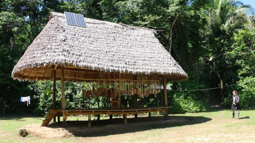 Casa Matsigenka Zona albergues