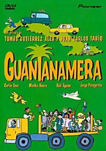 Portada película cubana Guantanamera